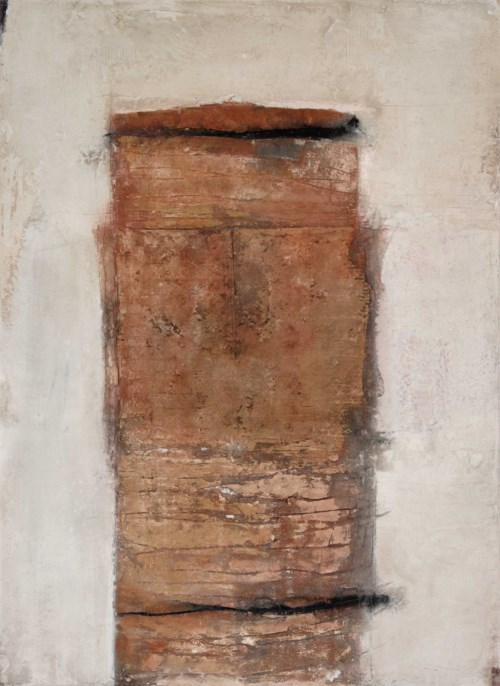 Form, in Weiß, 2008, 120 x 160 cm, in Privatbesitz